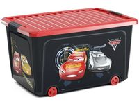 Контейнер для игрушек на колесах Cars, 58X39XH32cm