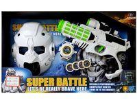 """купить Набор космический пистолет,браслет,пули,шлем """"Super Battle"""" в Кишинёве"""