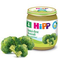 Piure de broccoli Hipp (4+ luni), 125g