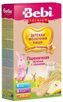 Bebi Молочная пшеничная каша с печеньем и грушами (6+) 200 гр.