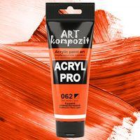 Краска акриловая Art Kompozit (062) Кадмий оранжевый 75 мл