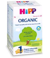 Hipp 1 Оrganic молочная смесь, 0+мес. 800 г