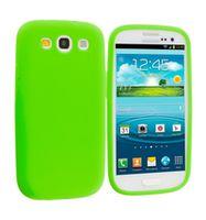 Husa de protectie silicon GO COOL pentru Galaxy S3, Green