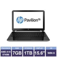 Ноутбук HP Pavilion 15-n268sa White