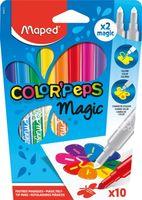 MAPED Фломастер MAPED Magic, 10+2 цвета