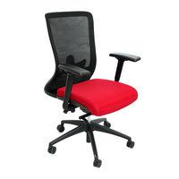 cumpără Scaun de birou 690x590x970 mm, negru cu roşu în Chișinău