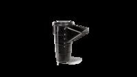 """Звено мусоропровода резиновое с боковой загрузкой """"RUBCHUTE"""" 110cm"""