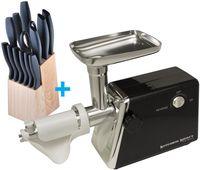 Мясорубка  KitchenKraft K1800+S14Set