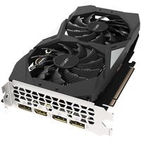 """VGA Gigabyte GTX1660 6GB GDDR5 OC //  GeForce® GTX 1660, 6GB GDDR5, 192 bit, Engine 1785/1830MHz (OC Mode), Memory 8002MHz, Active Cooling (2x fans), DisplayPort 1.4 *3, HDMI 2.0b *1, Power 8 Pin*1"""