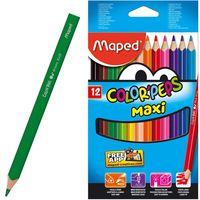 MAPED Карандаши цветные MAPED Maxi/12