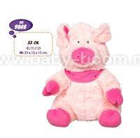 Artesania Beatriz 9868 Мягкая игрушка маленькая свинья 33 см
