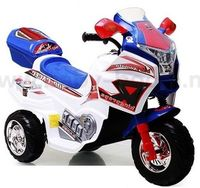 Baby Mix SKC-KB00101 Мотоцикл на аккумуляторе бело-синий