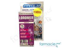 LOROMER Vegan sirop 125 ml +  Emplastru gel Family cu efect de racire 8 ore GRATIS