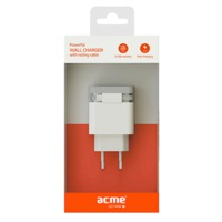 ACME CH17 Powerful wall charger with rolling cabel