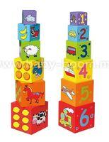 3ToysM U7/59461 Обучающие блоки разных размеров