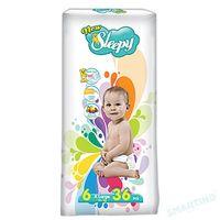 Sleepy Подгузники для детей 6, 16+ kg, 36 шт.