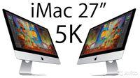 """Apple iMac 27-inch MNED2RU/A 27"""" 5120x2880 Retina 5K, Core i5 3.8GHz - 4.2GHz, 8Gb DDR4, 2x 1Tb Fusion Drive, Radeon Pro 580 8Gb, Mac OS Sierra, RU"""