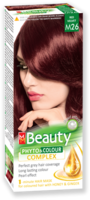 Vopsea p/u păr, SOLVEX MM Beauty, 125 ml., M26 - Roșu catifelat