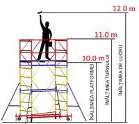 cumpără Turn modular mobil ВСР (0,7x2,0) 1+8 în Chișinău