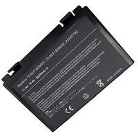 Battery Asus K40 K50 K51 K60 K61 K70 X5D A32-F52 A32-F82 10.8V 5200mAh Black