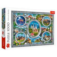 """Puzzle """"1000"""" - Castele lumii, cod 43107"""