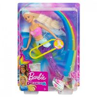 Барби Кукла Русалочка подводное сияние