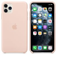 Apple Original Silicone Case Iphone 11 Pro  , Pink Sand