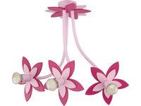 купить Светильник FLOWERS роз 3л сер-коричн 6894 в Кишинёве