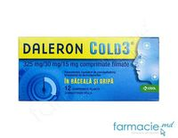 Daleron COLD 3® comp.film.325 mg + 30 mg + 15 mg  N12~