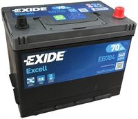 **АКБ Exide  EXCELL 12V  70Ah  540EN  270x173x222 -/+, EB704