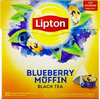 Lipton Nirvana Blueberry Muffin, 20 пак.