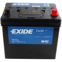 **АКБ Exide  EXCELL 12V  60Ah  390EN  230x173x222 -/+ Japan, EB604
