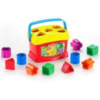 Fisher Price K7167 Ведёрко с кубиками