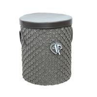 cumpără Coş rotund din textil 420x490 mm, gri în Chișinău