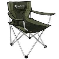 купить Стул-кресло складное для туризма и отдыха KM3803 BLACK-GREEN (1012) в Кишинёве