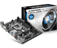 MB S1150 ASRock H81M-DGS R2.0 (Intel H81, mATX) 2xDDR3(DDR3 1600/1333/1066 non-ECC, un-buffered memory),VGA,DVI,PCI-Ex.16x1,PCI-EXx1x1,2xSATA 6GB/s,2xSATA 3GB/s,4+4xUSB 2.0,2xUSB 3.0,1xGbit LAN,Audio 8ch