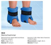 Аква утяжелители для ног aqua 9618 M (814)