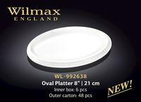 Platou WILMAX WL-992638 (oval 21 cm)