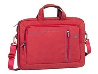 "16""/15"" NB bag - RivaCase 7530 Canvas Red Laptop,"