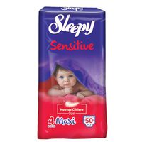 Подгузники Sleepy Sensitive 4 Jumbo Maxi