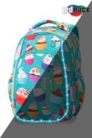 Rucsac  CoolPack STRIKE S LED CUPCAKES  (38x28x18)