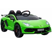 Машина на аккумуляторе Chipolino Lamborghini Aventador SVJ зеленый