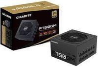 Блок питания ATX 750 Вт GIGABYTE GP-P750GM, 80+ Gold, полностью модульный, 120-мм вентилятор Smart
