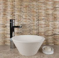 Mozaic Travertin Scabas Wicker Mat