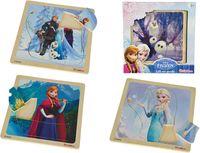 Eichhorn Пазл деревянный Frozen, 8 частей