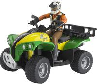 Bruder Quad with driver (63000)