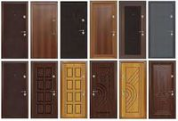 двери металлические Входные  H= 2,1m x 0,95m (95 кг)