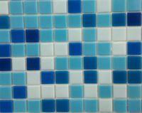 Mozaică din sticlă WA30+WA32+WA31+WA35+WA28 (mix albastru 5 culori)
