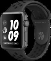 Apple Watch 3 42mm Space Gray Aluminium Case Nike Sport Band