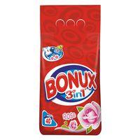 Detergent BONUX 3IN1 ROSE 4KG + Detergent de vase FAIRY LEMON 1L (Gratis)